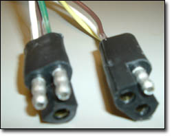 Three Way Triangular Molded Connectors